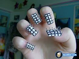 Meme Nail Art - most funny weird unusual nail art for crazy women 24 photos