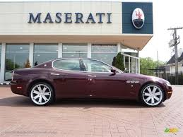 bordeaux maserati 2007 maserati quattroporte executive gt in bordeaux pontevecchio