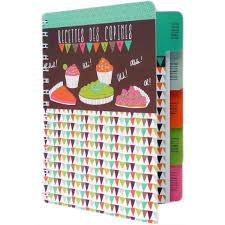 livre de cuisine vierge cahier vierge de cuisine à recettes des copines carnet idée cadeau