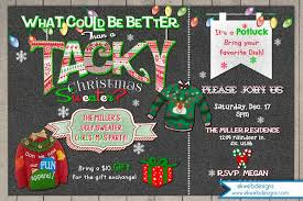 sweater invitation tacky sweater invitation