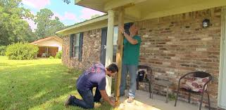 How To Clean An Awning On A House How To Remove And Replace A Wood Porch Column Today U0027s Homeowner