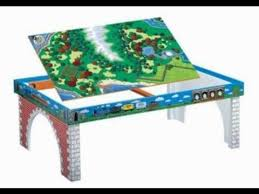 thomas the train wooden track table thomas train table vs imaginarium train table youtube
