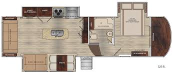 5th Wheel Camper Floor Plans by Vanleigh Rvs Luxurious Fifth Wheel Rvs Lazydays Rv