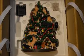 pug tree to find danbury mint lighted what s