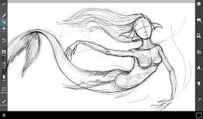 step by step tutorial on how to draw a mermaid create discover