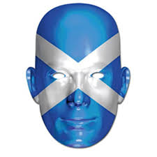 Flag Face Scotland Flag Face Mask