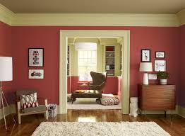 inspiring wall art gallery mixed with pink white interior painting