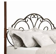 amazon com leann graceful scroll iron metal canopy poster bed