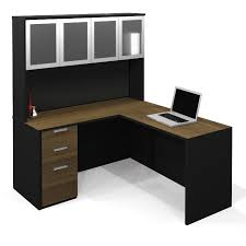 Black L Shaped Desk With Hutch New Black L Shaped Desk With Hutch Images Desk Design Small L