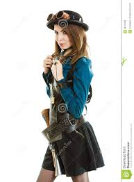 cool in steampunk style stock photo image 68131092