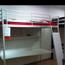 Ikea Tromsö Loft Bed Just Slide His Desk And Bookshelf - Tromso bunk bed