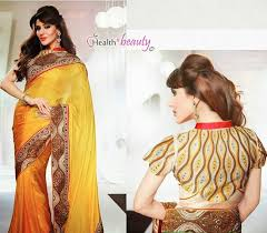 showing post u0026 media for collar neck saree blouse designs www