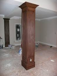 interior columns for homes homes plans with interior columns home interior