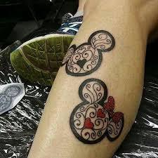 couple tattoo mickey mouse disney tattoo mickey and minnie tattoos pinterest tattoo