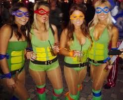 Chica Halloween Costume Disfraz Tortugas Ninja Chica Más Tv U0026 Movie Character