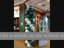 learn how to make balloon column decorations purchase one of