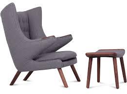 furniture home replica papa bear chair hans wegner design modern