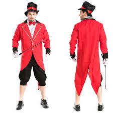 Lion Tamer Costume Online Shop Mens Circus Ringmaster Lion Tamer Costume Tuxedo Tail
