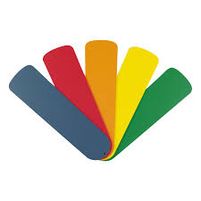 primary color ceiling fan shop harbor breeze 52 university primary colors ceiling fan blade