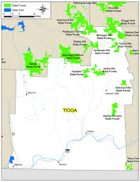 Map New York State Tioga County Map Nys Dept Of Environmental Conservation