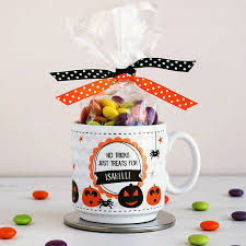 personalised halloween mugs by cloud 9 design notonthehighstreet com