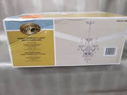 Hampton Bay Maria Theresa Chandelier Lights Ceiling Fans Electrical Led Upgrades More In Dassel
