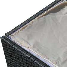 Lifetime 60012 Extra Large Deck Box Instructions by Amazon Com Patioroma Outdoor Patio Aluminum Frame Wicker Cushion