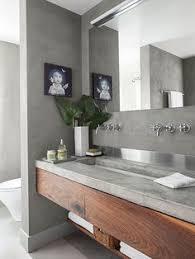 Concrete Floor Bathroom - 14 reasons to use concrete countertops in your bathroom