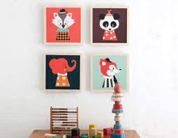 tableaux chambre bébé deco chambre bebe tableau visuel 9