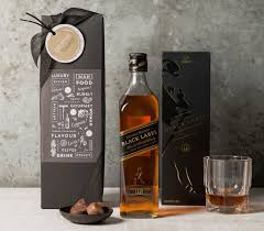 whiskey gift basket johnny walker black whiskey christmas hers gift baskets 2013