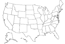 united states map black and white maps us map black and white