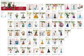 sketchbook ornaments disney store listing release 2016 flickr