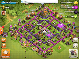 big clash of clans base upgrading th7 to 8 big mistake page 4