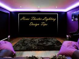 Home Theater Ceiling Lighting Home Theater Lighting Design With Goodly Led Rope Light Throughout