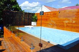 Modern Backyard Fence by Glass Pool Fence Glass Factory Nyc