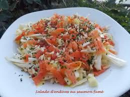 cuisiner les endives salade d endives au saumon fumé croquant fondant gourmand