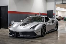 fake ferrari body kit misha designs launches aggressive body kit for ferrari 488 gtb