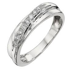 gold eternity rings 9ct white gold diamond eternity ring h samuel