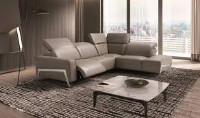 living room italian leather sectional sofa living rooms