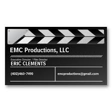 Writer Business Card Film Director Executive Producer Business Card Film Director