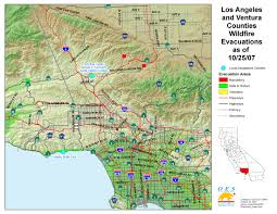 Map Of Riverside County Ca Oes Fire Socal 2007