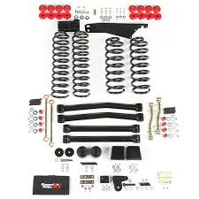 lift kits for jeep wrangler rugged ridge 18401 60 4 inch lift kit without shocks 07 15 jeep
