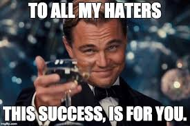 Success Meme - leonardo dicaprio cheers meme imgflip