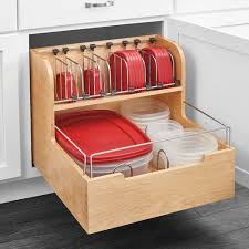 Storage Containers For Kitchen Cabinets Found It At Wayfair Wood Food Storage Container Organizer For