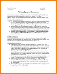 Resume Volunteer Experience Examples by Personal Goal Statement Graduate Examples Top Essay Writing