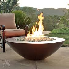 Copper Firepits Buy A Custom 45 Inch Copa Moreno Hammered Copper Pit