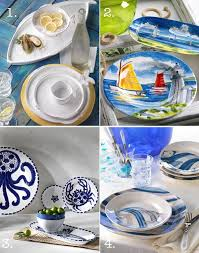 best 25 nautical dishes ideas on fused glass bowl