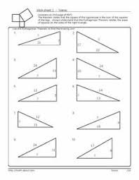 ideas collection pythagorean theorem 8th grade worksheets with