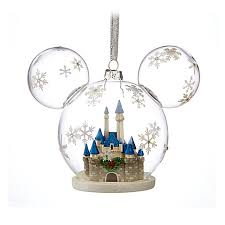 ornament mickey mouse fantasyland castle
