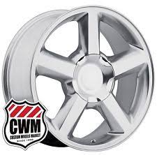 Awesome Choice 20 Inch Vogue Tires For Sale Tahoe Ltz Rims Wheels Tires U0026 Parts Ebay